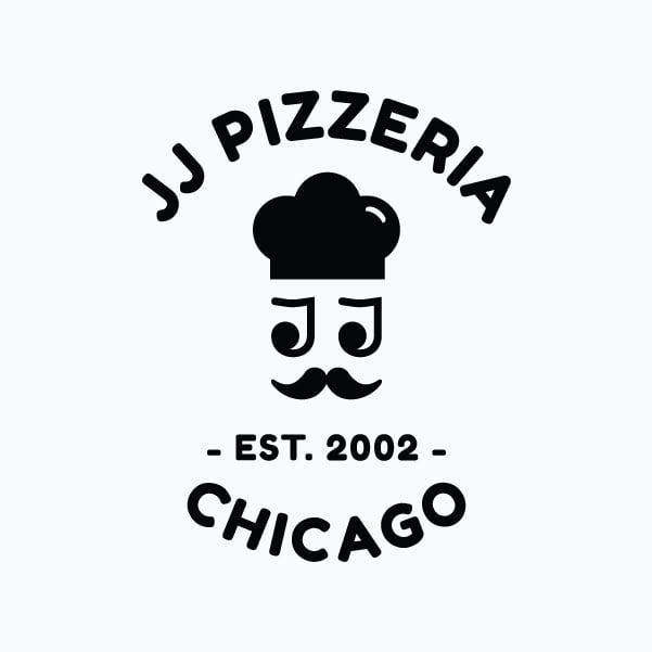 JJ-Pizzeria-Schwarzes-Logo-Portfolio-Bild