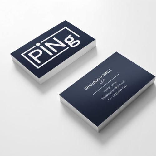 Ping-Visitenkarte