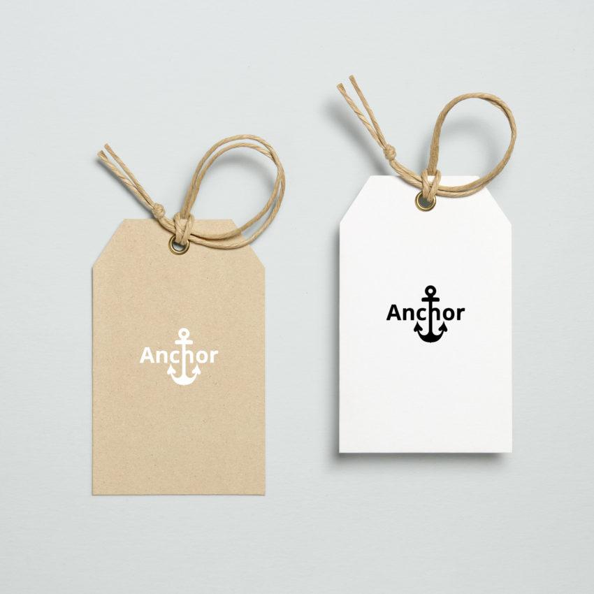 Anchor-Etikett-Preisschild