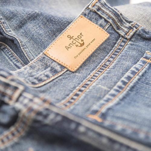 Anchor-Jeans-Hose-Etikett