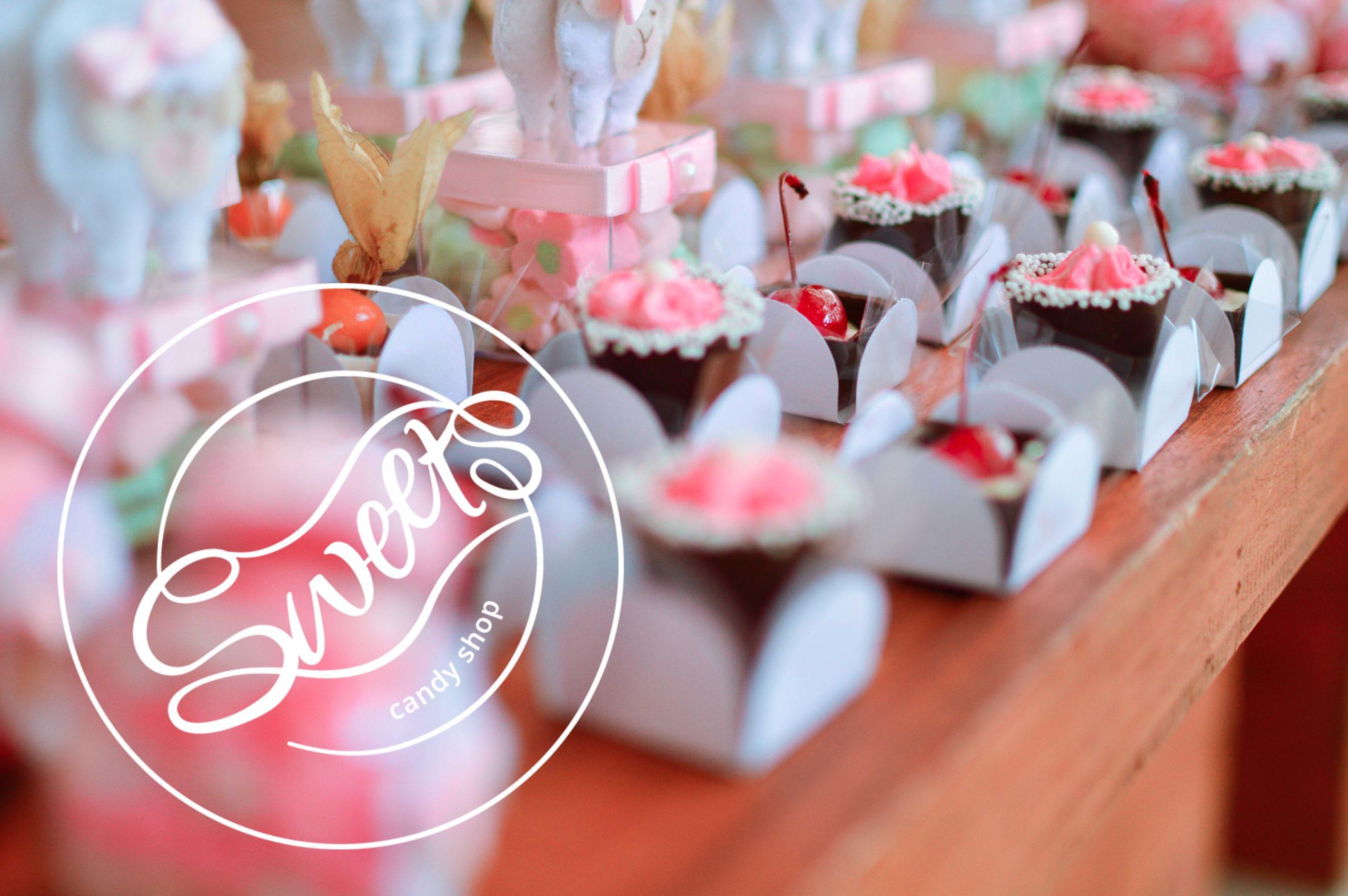 Sweets-Logo-Süßigkeiten-Pralinen