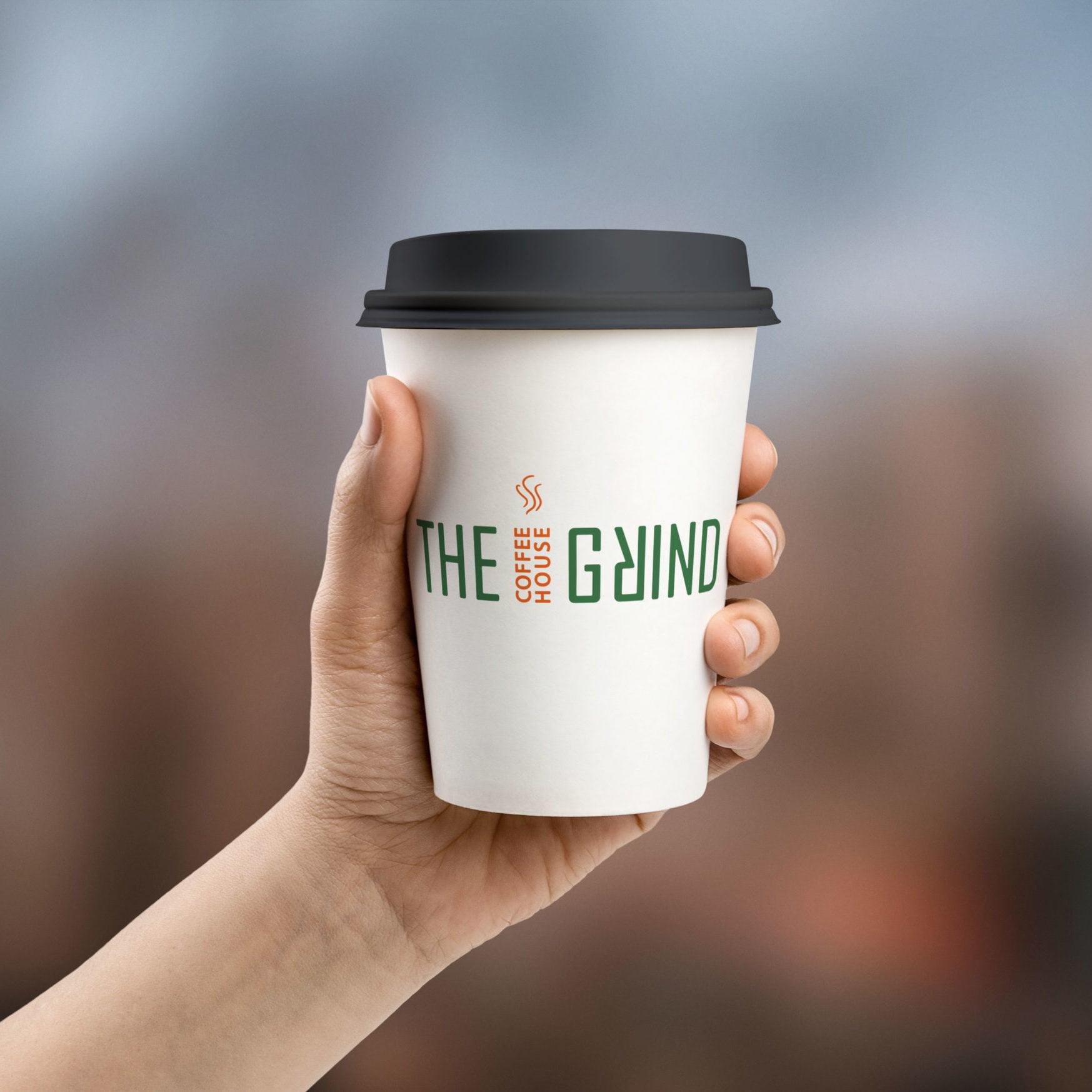 The-Grind-Logo-Kaffeebecher