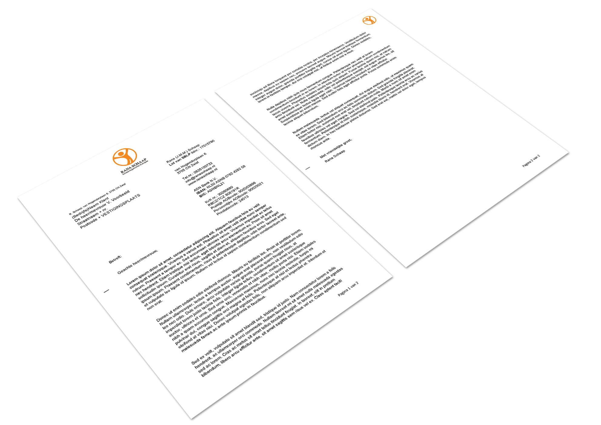 Rana-Schaaps-Brief