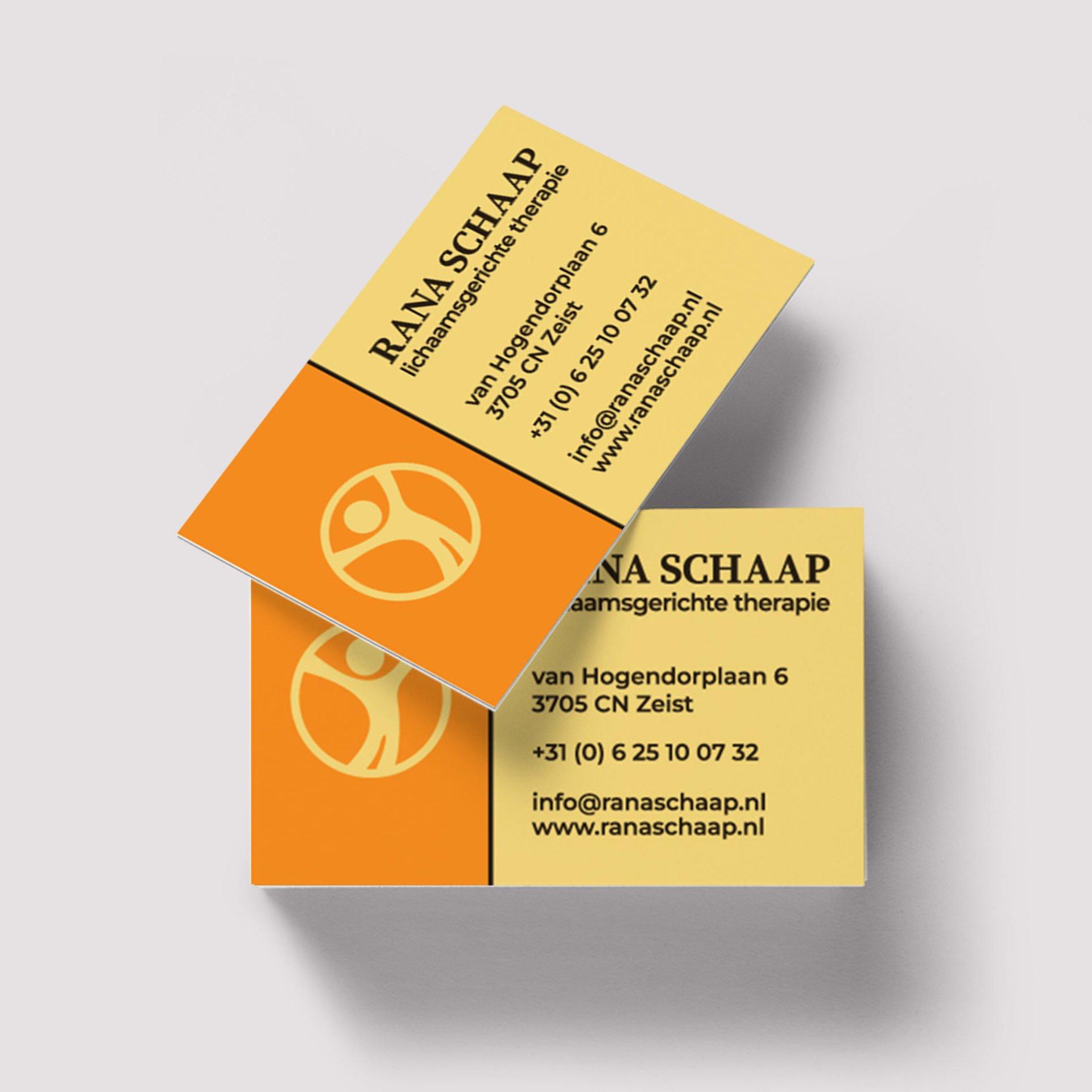 Rana-Schaap-Visitenkarte